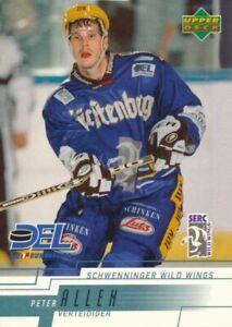 Joacim Eriksson Upper Deck 2013-14 Young Guns Schwenninger Wild Wings Canucks