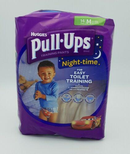 Huggies Boy/'s Pull-ups Night-time nappies Size Medium 10-18kg