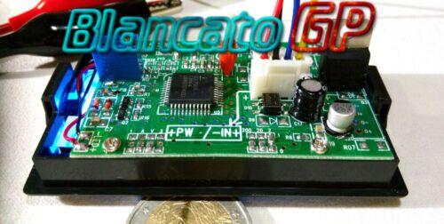 OHMMETRO DIGITALE DA PANNELLO LCD CON LED BLU 0-2K Ohm DC Ohmetro ohmmeter panel
