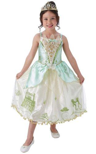 Girls Storyteller Tiana Princess And The Frog Book Week Fancy Dress Costume