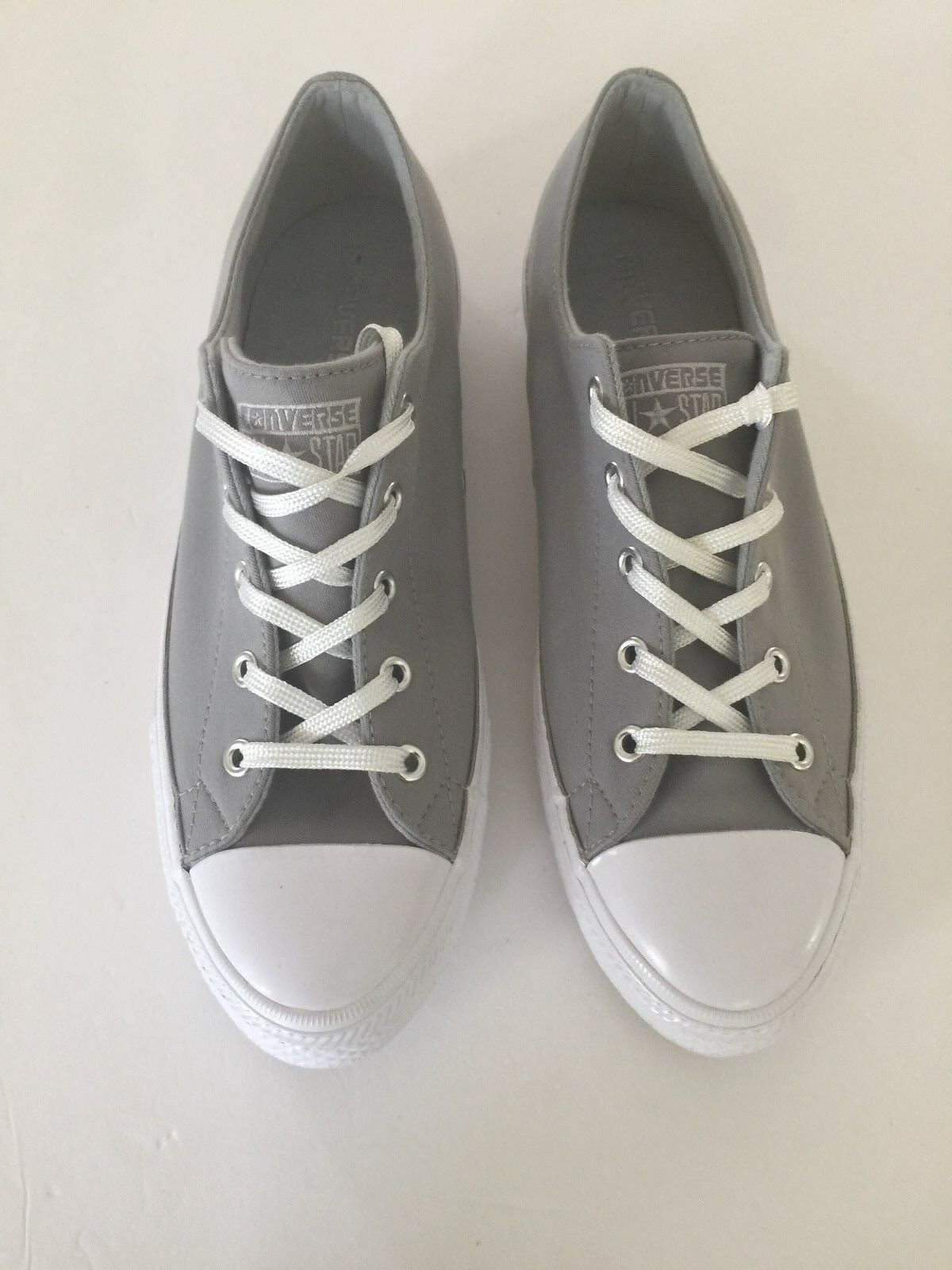 Converse 554426C CTAS WHITE GEMMA OX DOLPHIN MOUSE WHITE CTAS Size 10 Free shipping ba9a92