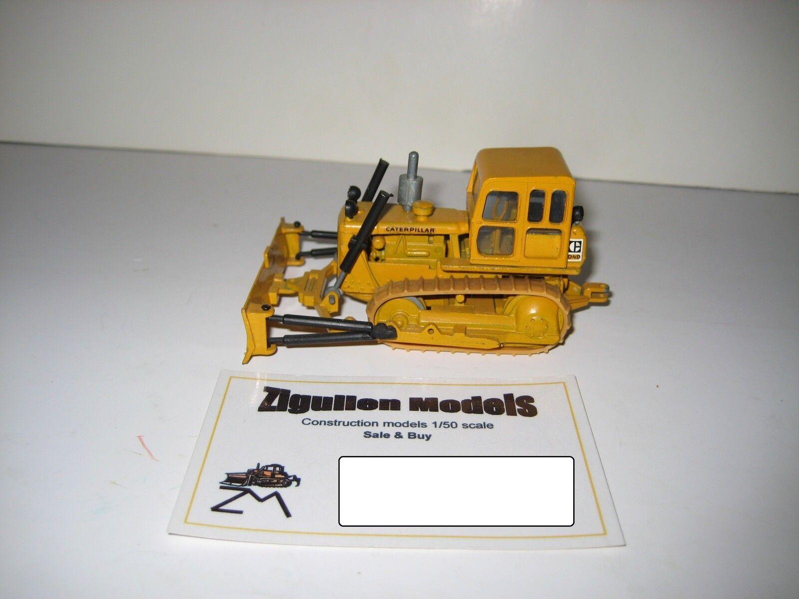 Caterpillar d 4 d bulldozer Pacman logotipo con lanza  119.7 NZG 1 50