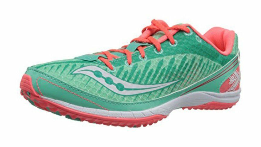 New Saucony Women's Kilkenny XC5 shoes Cross Country Flat shoes Green Size US 6.5