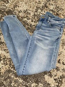 AE-AMERICAN-EAGLE-OUTFITTERS-JEGGING-SUPER-STRETCH-WOMENS-JEANS-SIZE-4-Reg