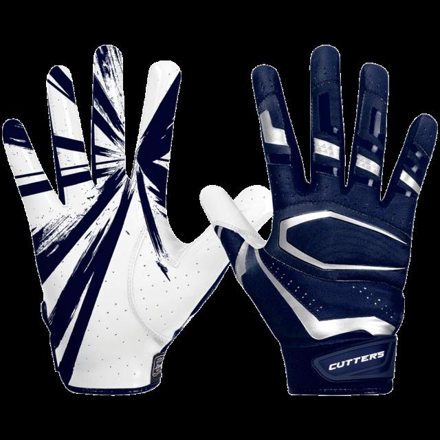 Cutters Padded C-Tack 017LC Men's Football Full Finger Lineman Gloves XXL NEW