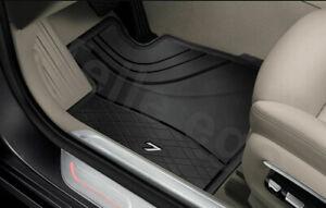 Originale-BMW-G11-G12-Tappetini-Tutte-le-Stagioni-Ant-Nero-51472443985-Nuovo-LHD