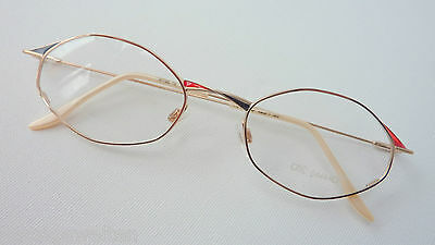 Kleidung & Accessoires Schnelle Lieferung Ars Vivendi Aparte Damenbrille Dünnrandig Metall Dezentes Farbdecor 48-18 Size M Nachfrage üBer Dem Angebot