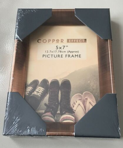 Vintage Copper Effect Picture Photo Frame 8x10 6x8 5x7 Christmas Photo Size Gift