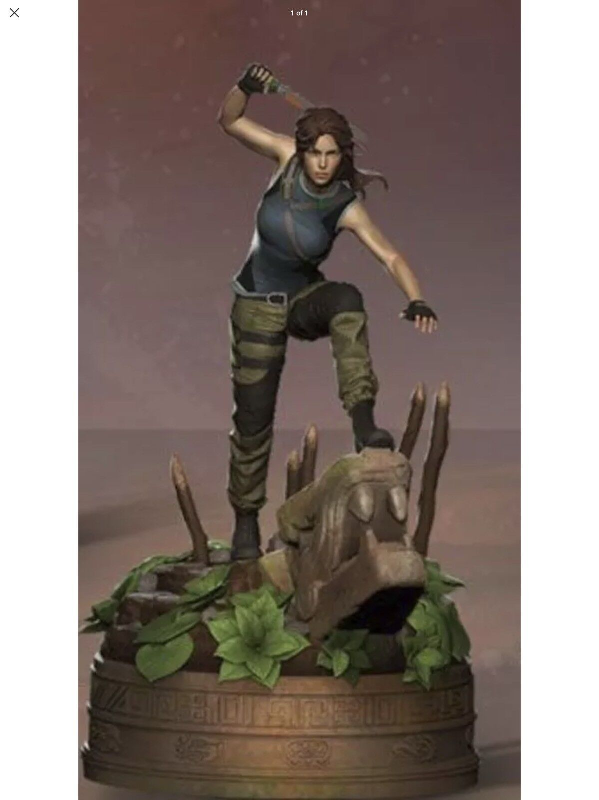 Shadow of The Tomb Raider Ultimate Edition Lara Croft Tombs STATUE ONLY