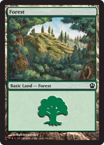 Forest 246 MTG MAGIC THS Theros English 20x Foresta 246