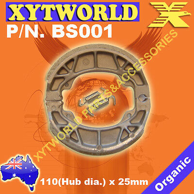 SYM 50 JIVE 50cc /'2004 Front Brake Shoes For BOLWELL PGO New Newfren