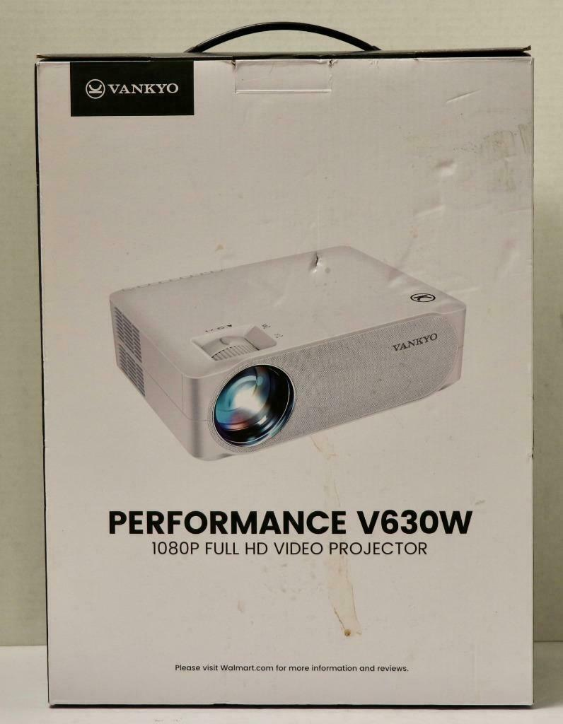 ezcashsales NEW - Vankyo Performance V630W 1080P Full HD Home Theater Video Projector