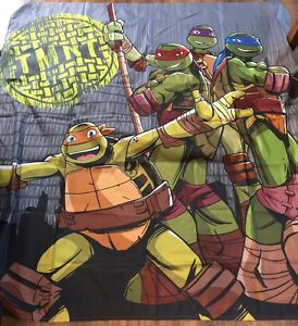 Image Is Loading TMNT Teenage Mutant Ninja Turtles Shower Curtain NEW