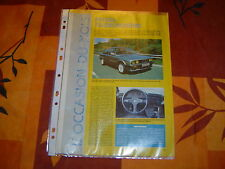 OCCASION...BMW SERIE 3..E 30...325 i / is ..+ TUNING....4 PAGES de 1990