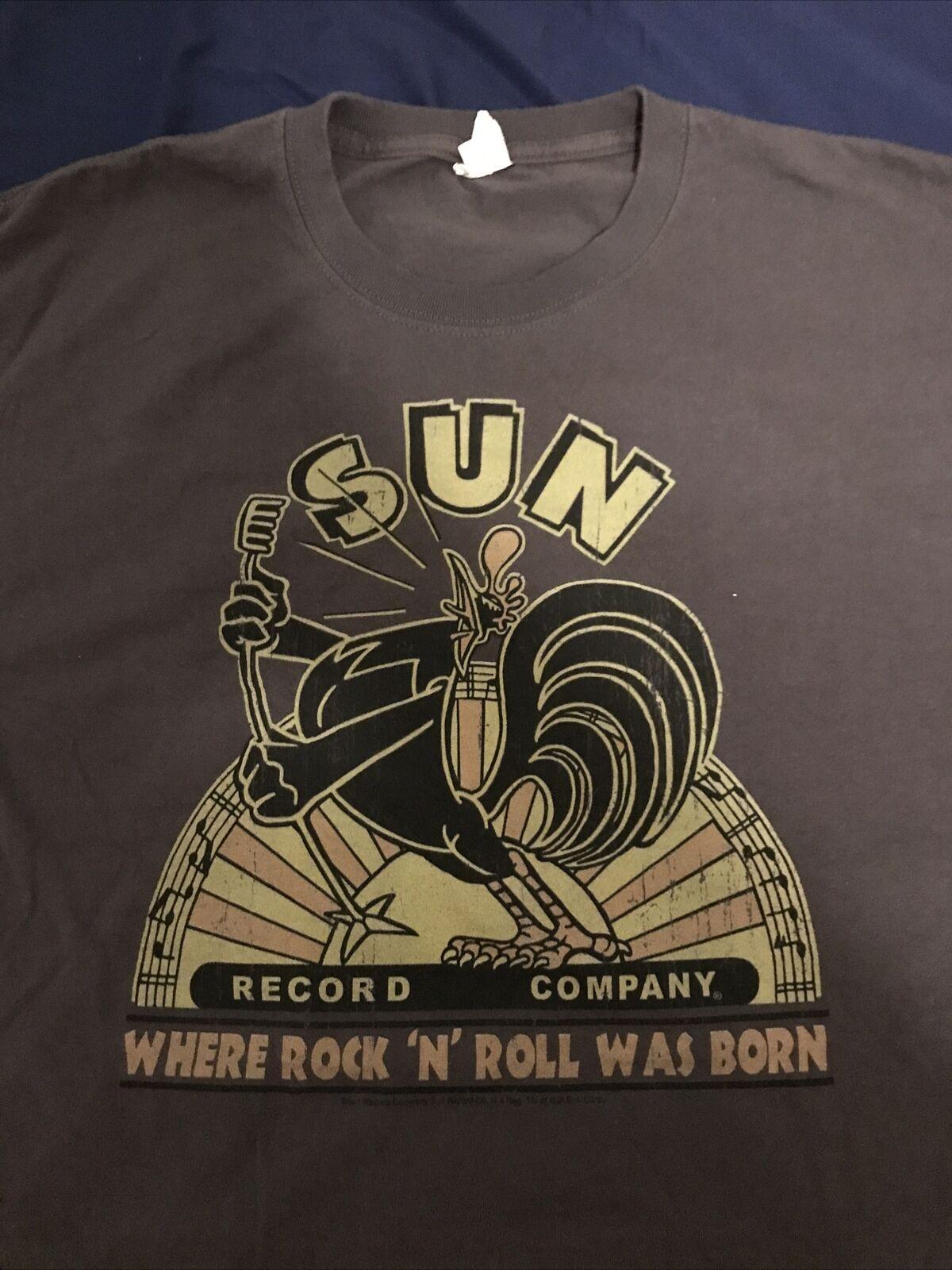 Men's L-XL SUN Record Company Where Rock 'N Roll … - image 3
