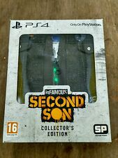 inFamous: Second Son -- Collector's Edition (Sony PlayStation 4, 2014) Sealed UK