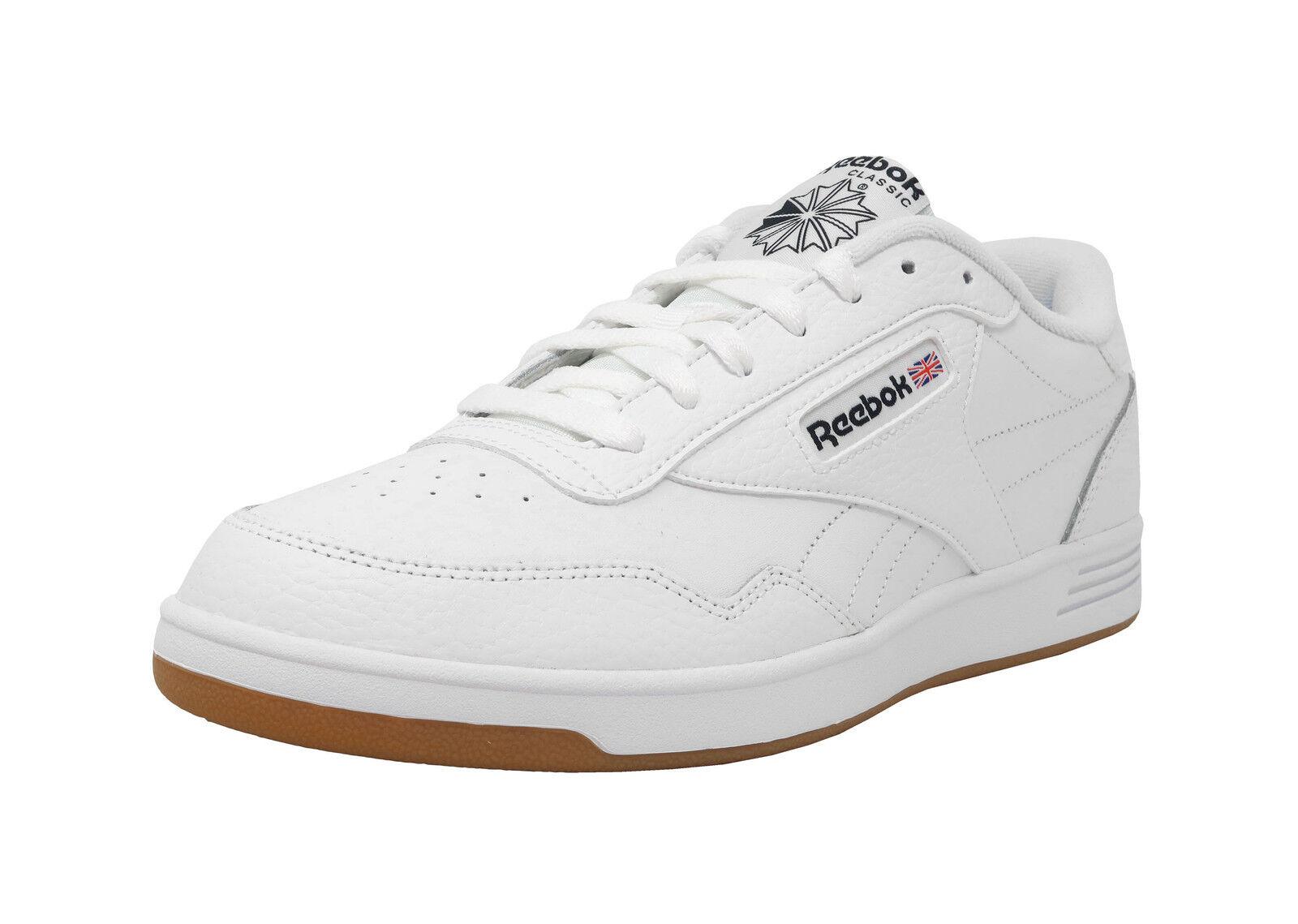 REEBOK Club Memt Memory Tech Blanc Gomme Lacets Baskets Mode Hommes Chaussures