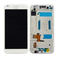 New Huawei Ascend G7 G7-L01 Touch Digitizer LCD Screen Assembly With Frame White