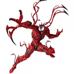 Marvel-Carnage-Red-Venom-No-Revoltech-Series-PVC-Action-Figure-Toys-Kids-Gifts