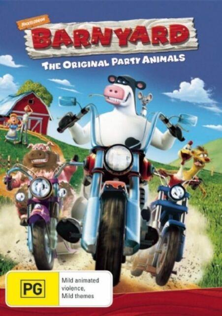 Barnyard (DVD, 2006) Region 4 Childrem's & Family Animated DVD Rated PG - Good