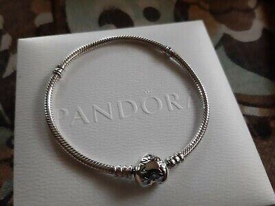 pandora moments heart clasp bracelet 21cm
