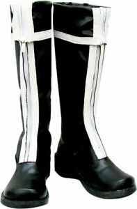 Cosplay-Boots-Shoes-for-D-Gray-man-Lavi-Bookman-Jr-1st-ver