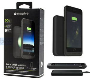 newest 2da9e 5a00d Details about Mophie juice pack wireless & Charge Force wireless charg base  iPhone 6/6S PLUS