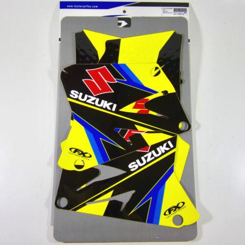 Factory Effex EVO 15 Graphics Suzuki RM 125 250 RM125 RM250 01 02 03 04 06 07 08