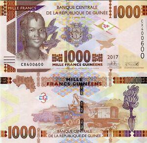 Guinea-1000-Francs-Guinea-1000-Francs-Banknote-2017-2019-Cash-FRESH-UNC