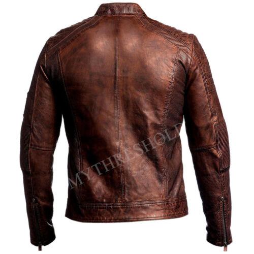 motociclista da marrone vintage uomo antico da da Motociclista pelle motociclista in v4wnHd