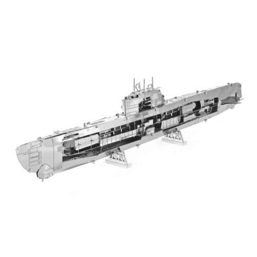 Metal Earth WWII German U-Boat Type XXI 3D Laser Cut Metal DIY Model Build Kit