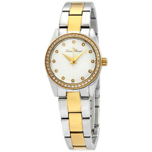 Lucien-Piccard-LaBelle-Crystal-White-Dial-Ladies-Watch-40023-SG-22