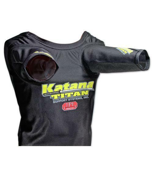 Super Katana SS Benchmark Press Shirt von Titan Powerlifting 1 ply IPF Legal