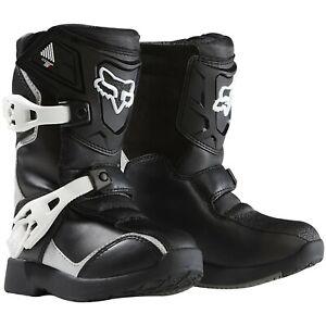Fox-Comp-5K-boots-Black-Silver-kids