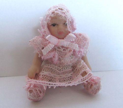 1:12 dulce miniatura porcelana-Baby para la casa de muñecas