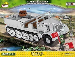 COBI-Sd-Kfz-9-Famo-2522-412-blocks-WWII-Small-Army-German-half-track