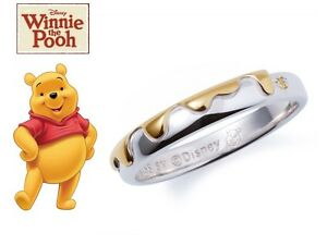 71299ac04355 New Disney Winnie The Pooh Honey Ring Jewelry Silver Limited Japan ...