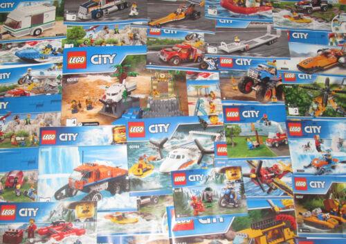 Gros Lot Vrac 1 kilo Notice Papier Plan Manuel Recette Lego Ville City NEUF