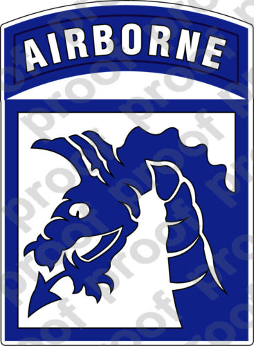 STICKER US ARMY UNIT 18th Airborne Corps