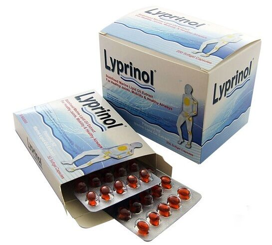 Lyprinol New Zealand Green Lipped Mussel Extract - 200 capsules Joint Support