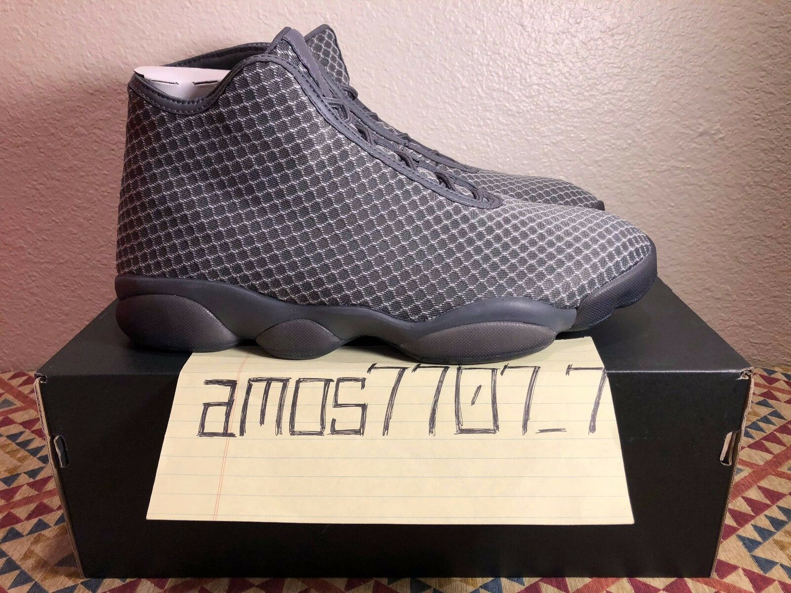 Nike Air Jordan Horizon Wolf Grey Dark Grey 823581 003 Men's DS Size SZ 11.5 13
