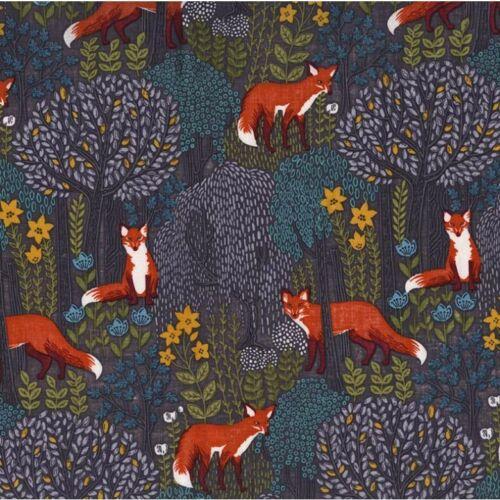 Baumwolle Michael Miller in the woods Fuchs im Wald