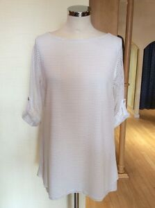 £134 Now Bnwt 10 Rrp Gold Cream Latte Top Size £54 Layered aZqwWfgB