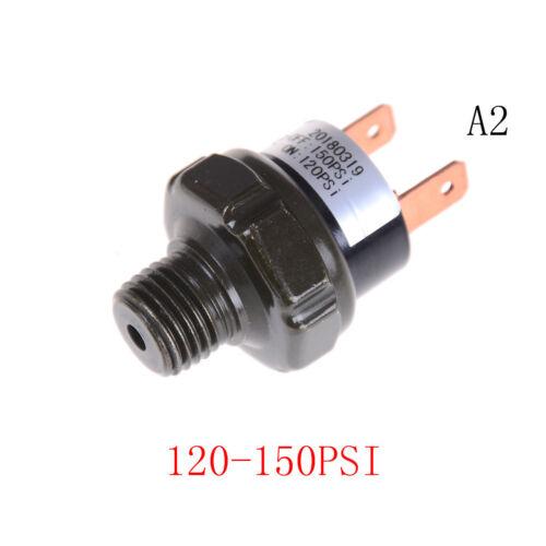 "120-150 PSI Air Compressor Tank Pressure Control Switch Valve 1//4/"" NPT End   J7"
