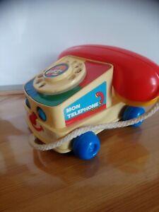 Ancien téléphone jouet mon téléphone Jumbos no 330