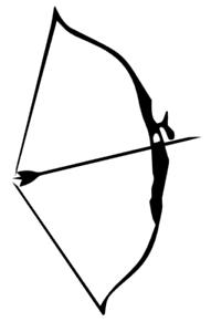 Bogenschiessen Aufkleber Bogensport Aufkleber Auto Bogen Pfeil Bogenschütze 40//7