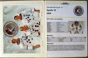 s1851-Raumfahrt-Space-Kosmos-Apollo-15-Sammlung-mit-Autographen-Autopen