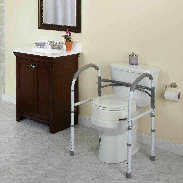 Carex Health Brands B36900 Bathroom Safety Rail For Sale