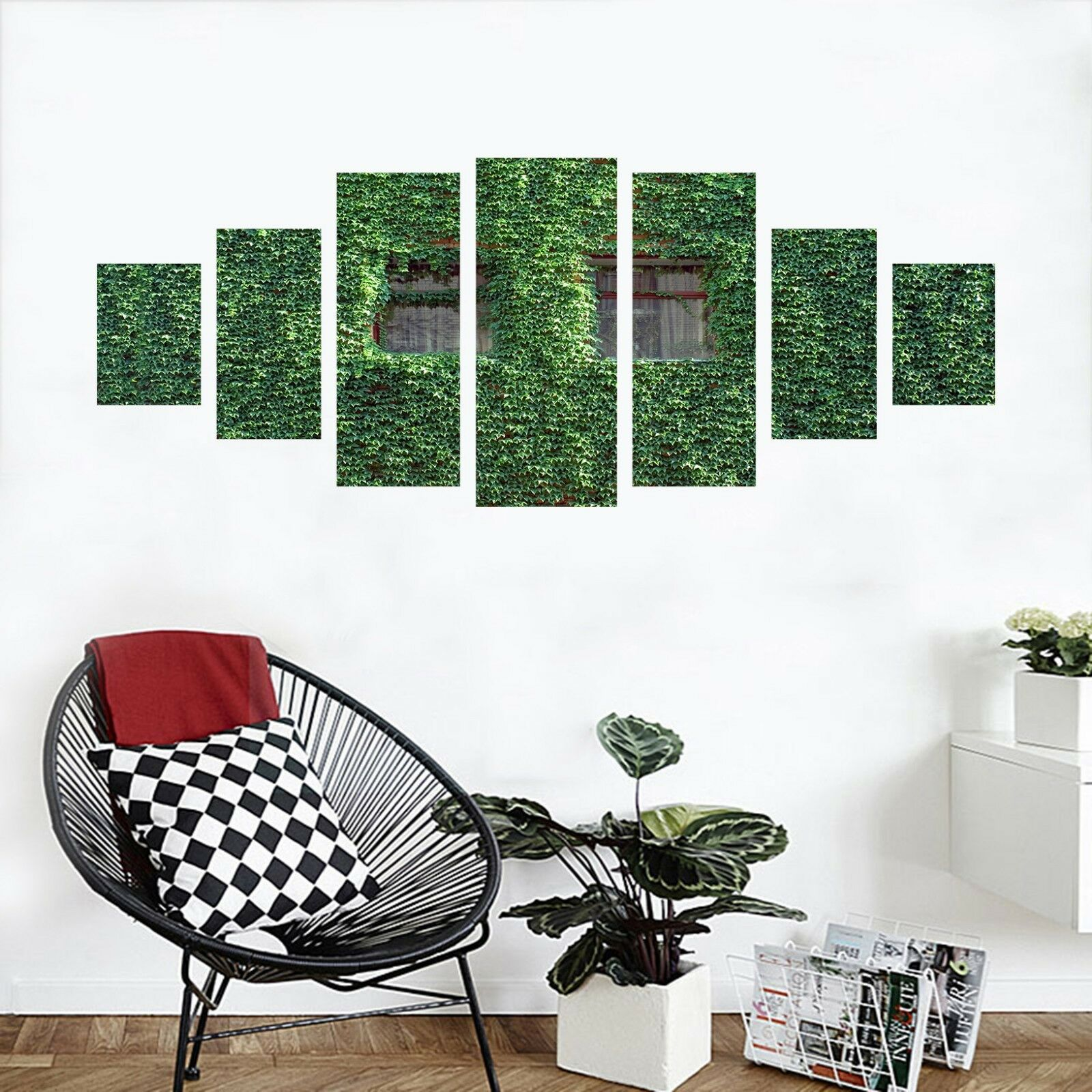 3D vert Leaf Vines 123 Unframed Print Wall Paper Deco Indoor AJ Summer