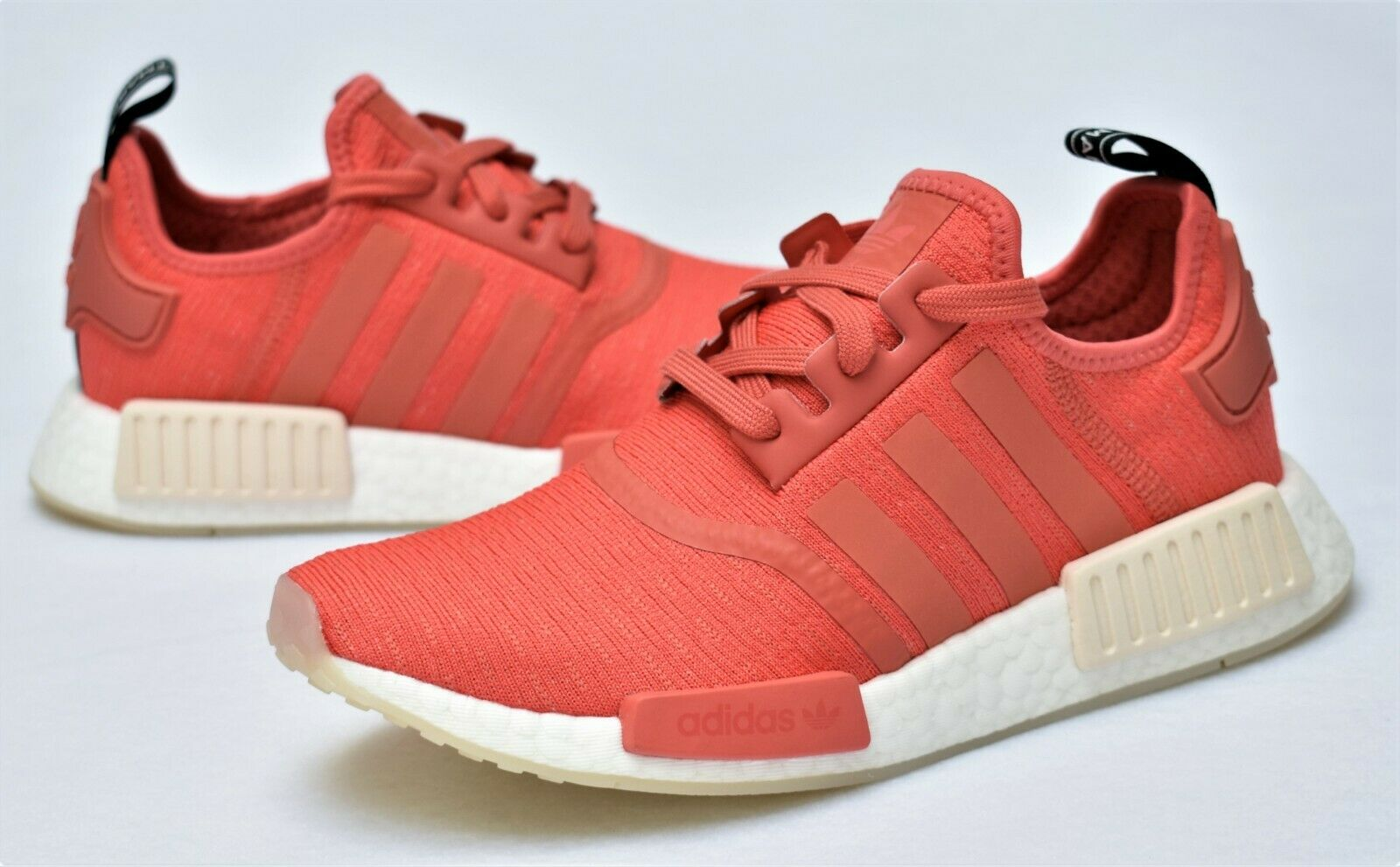 cf6743538 Authentic adidas Women NMD R1 Trace Scarlet Red Coral Pink Size7 ...